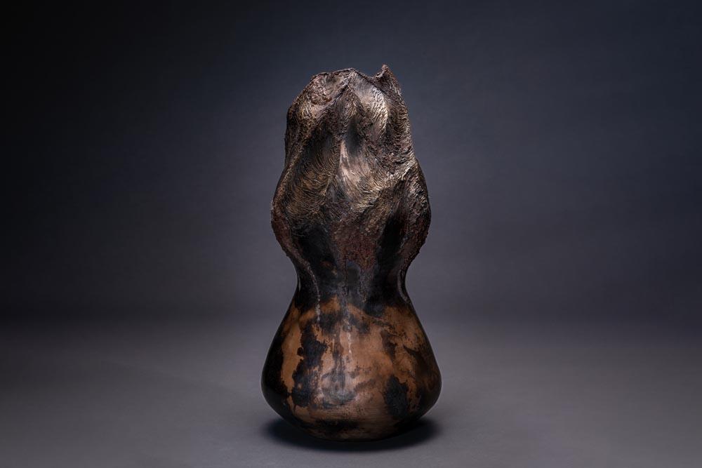 Œuvre sculpté en argile