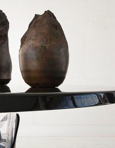 Deux vase Claire Fréchet en céramique