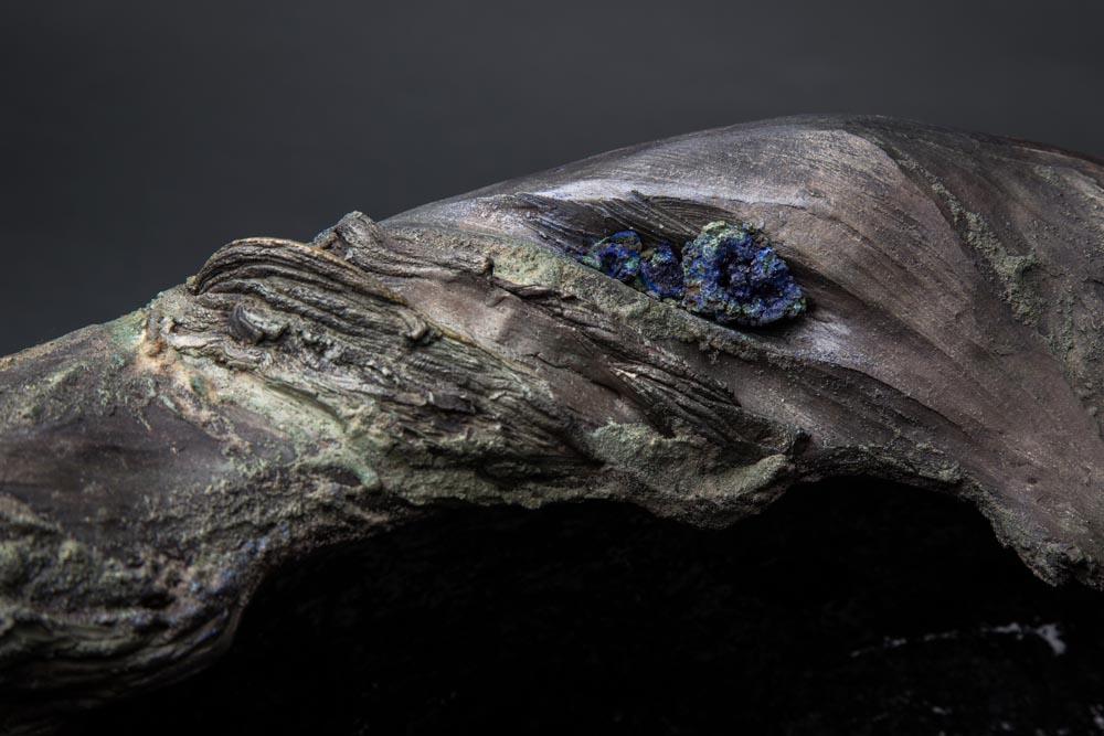 détail céramique texture écorce