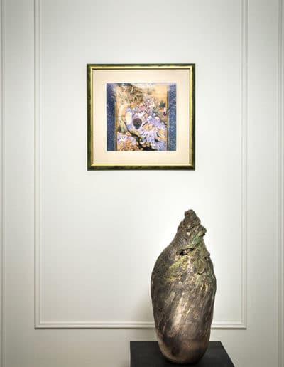 Sculpture Claire Fréchet dans une résidence privé à Paris