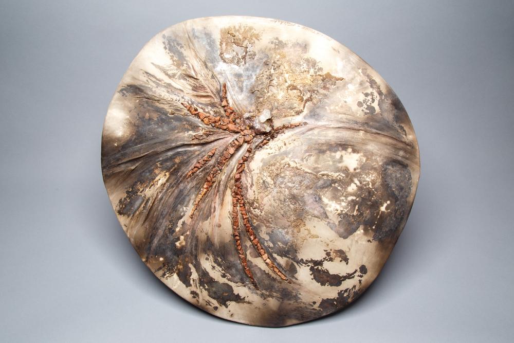 Fréchet détail bas relief céramique contemporaine décoration objets d'art