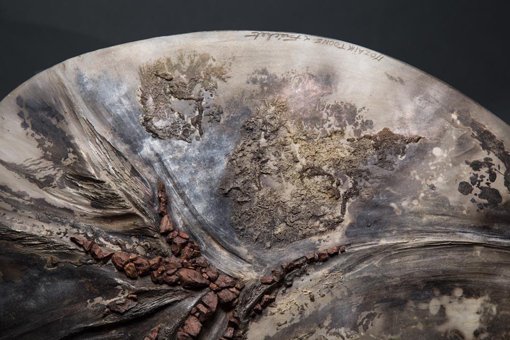 Détail bas relief - Rêverie Minérale 1 Fréchet