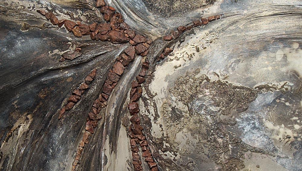 Détail céramique Rêverie Minérale Fréchet