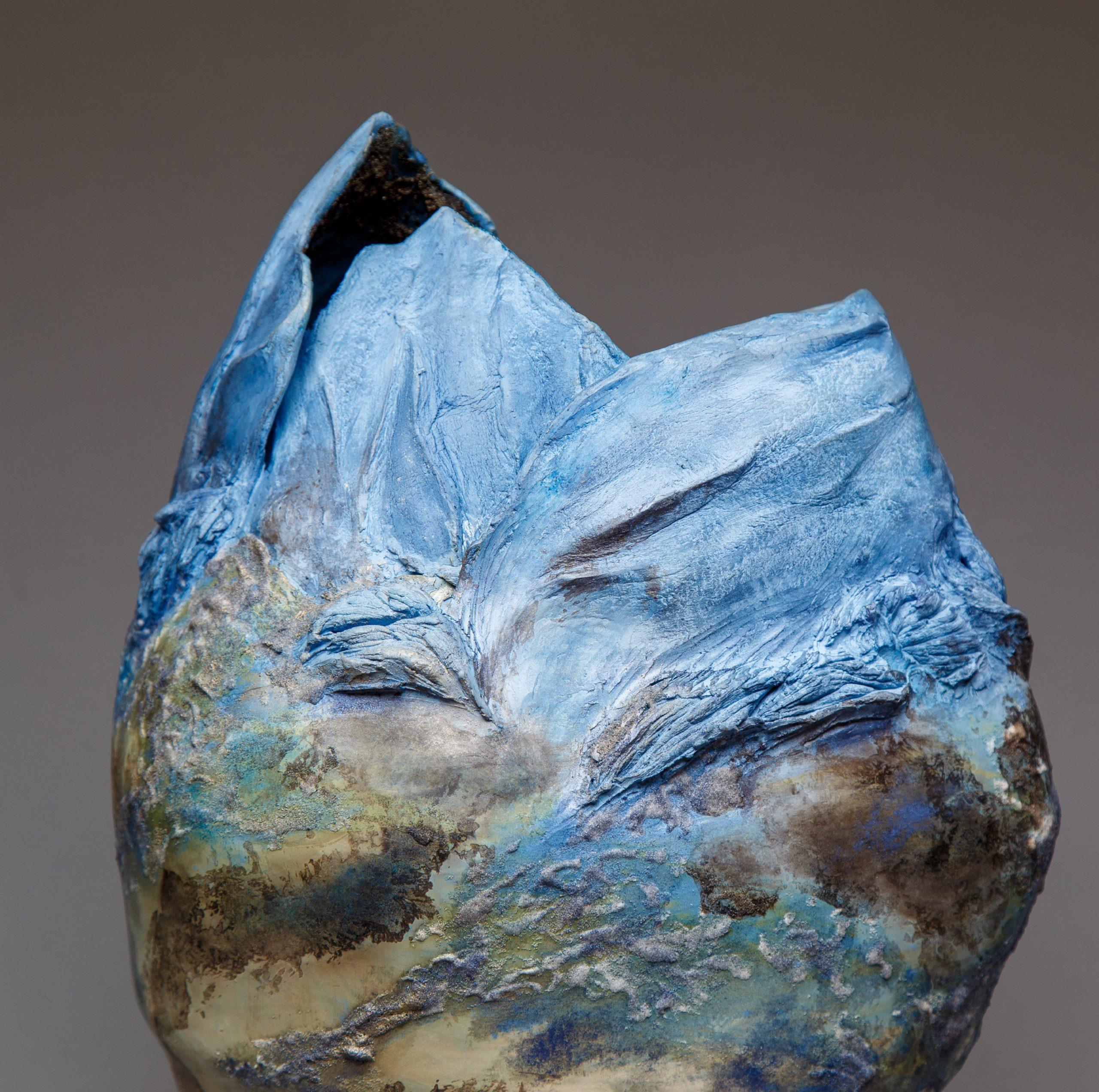 claire frechet sculpture ceramique contemporaine aurora mineralis